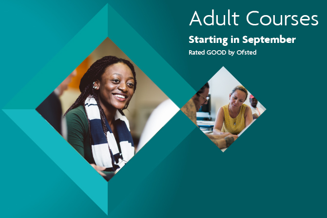 adult courses in 2016 and17