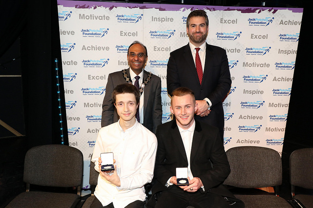 Jack Petchey Awards 2017 RuTC Students Kieran Peckett and Rory Walsh