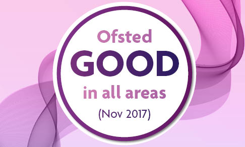 Ofsted GOOD button 2018 16 18