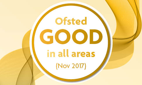 Ofsted GOOD button 2018 Support Learning
