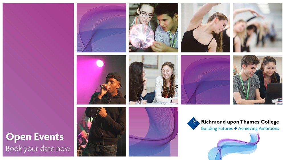RuTC Open Event 2017 Facebook and Insta advertisements purple