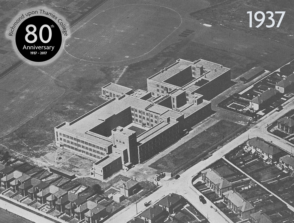 RuTC 80th Anniversary 1937 Aerial Photo
