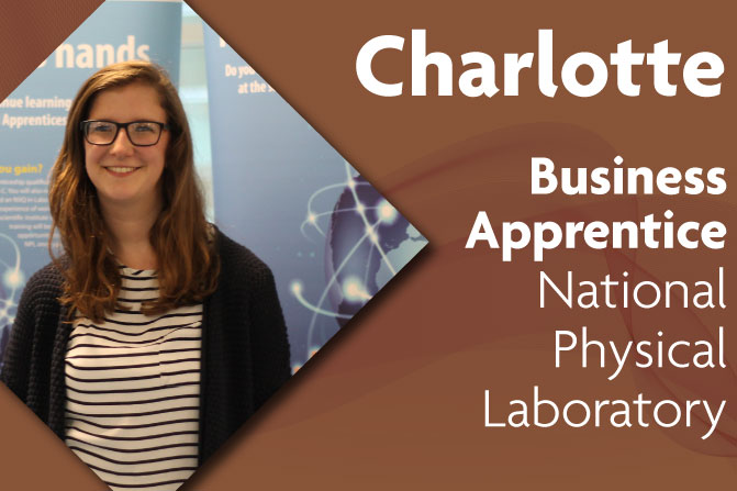 business administration apprenticeship at National Physical Laboratory and Richmond upon Thames College in London charlotte