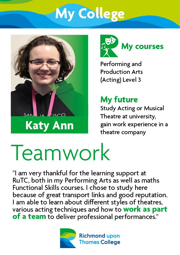 What Our Students Say 2019 Performing Arts Katy Ann