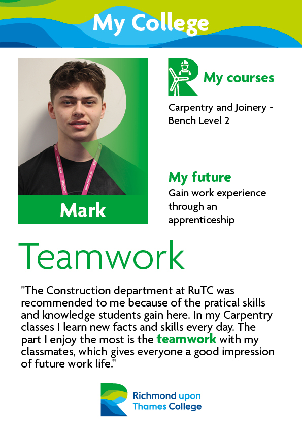 What Our Students Say 2019 Construction Crafts Mark