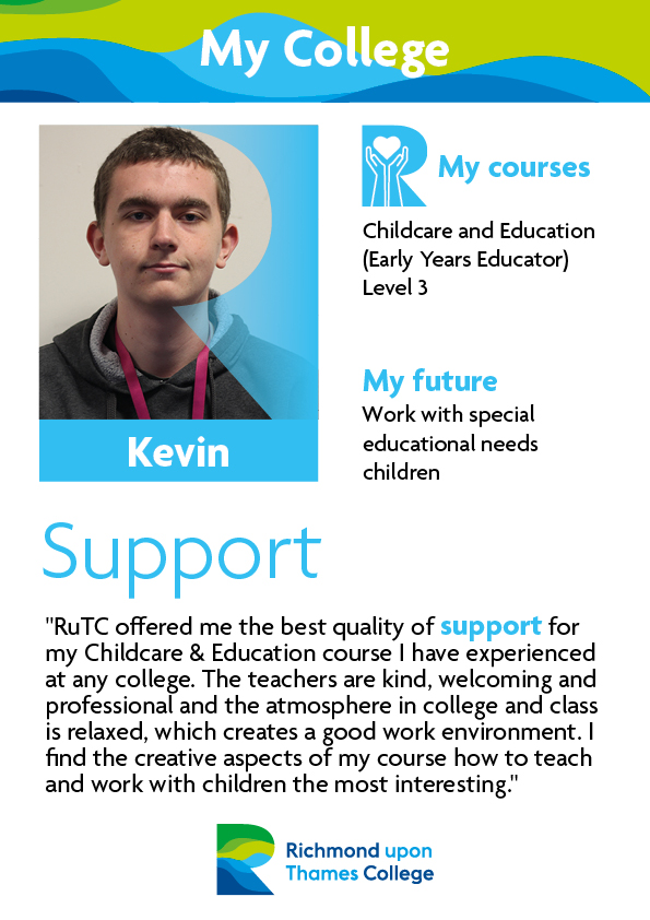 What Our Students Say 2019 Childcare Kevin