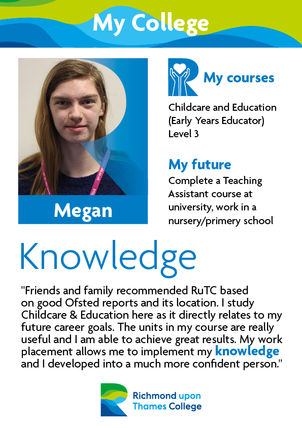 What Our Students Say 2019 Childcare Megan