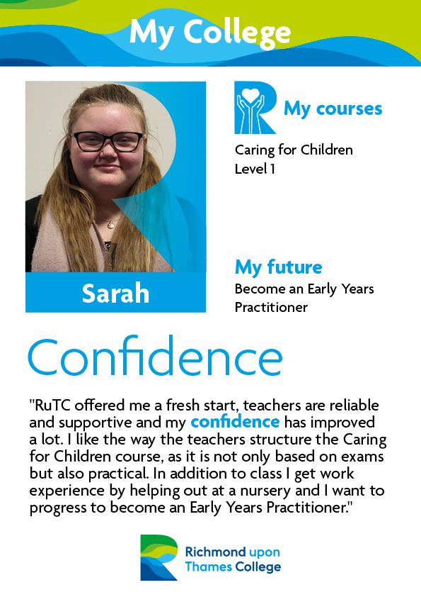 What Our Students Say 2019 Childcare Sarah