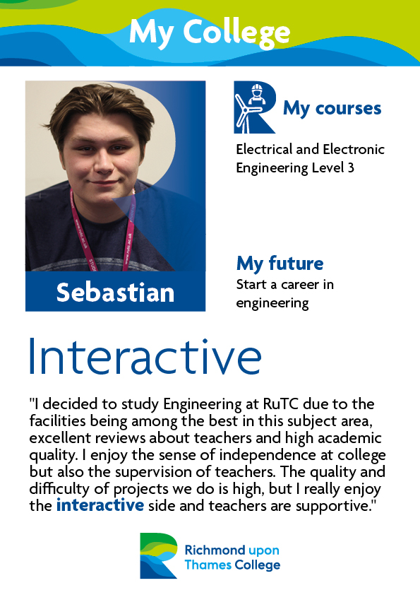 What Our Students Say 2019 Engineering Sebastian