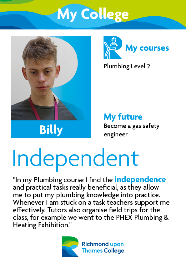 What Our Students Say 2019 Construction Crafts Billy
