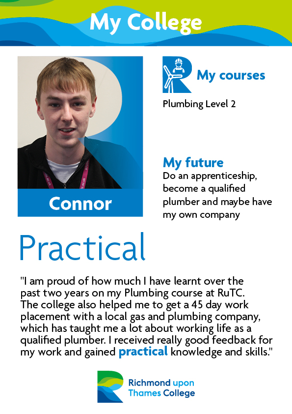 What Our Students Say 2019 Construction Crafts Connor