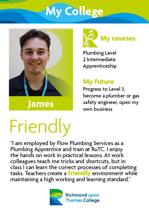 What Our Students Say 2019 Construction Crafts James