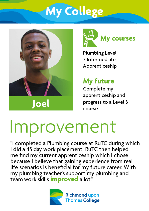What Our Students Say 2019 Construction Crafts Joel