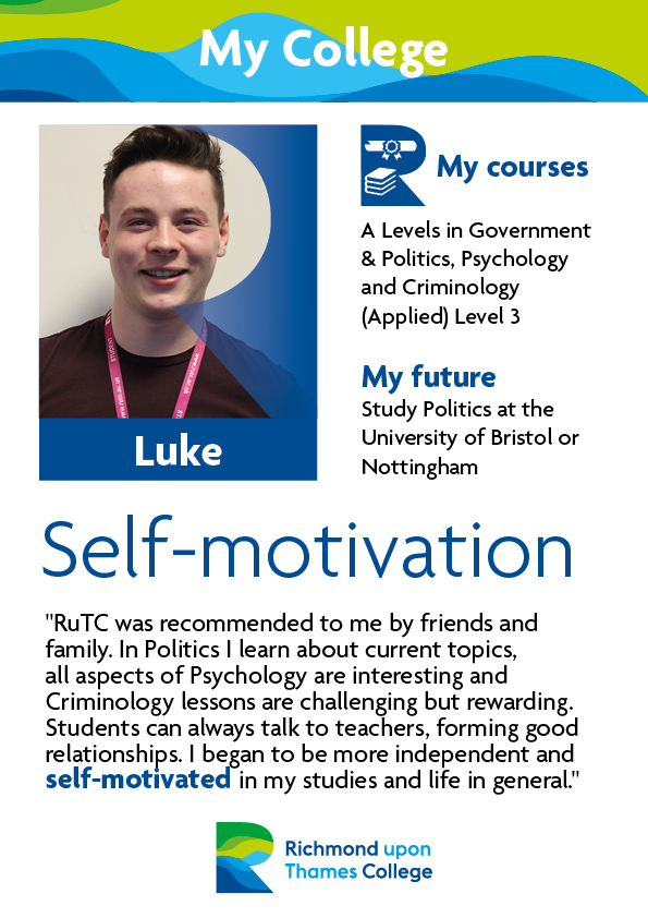 What Our Students Say 2019 Social Sciences Luke