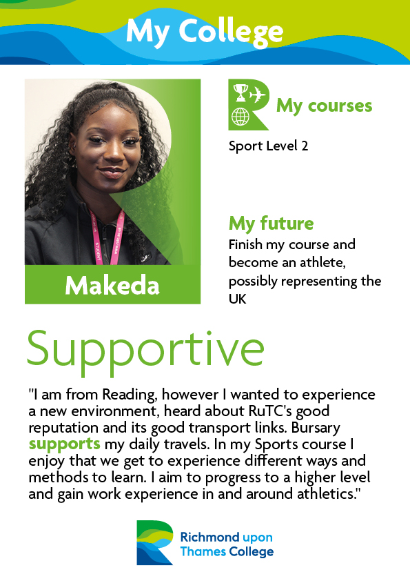 What Our Students Say 2019 Sport and Exercise Makeda