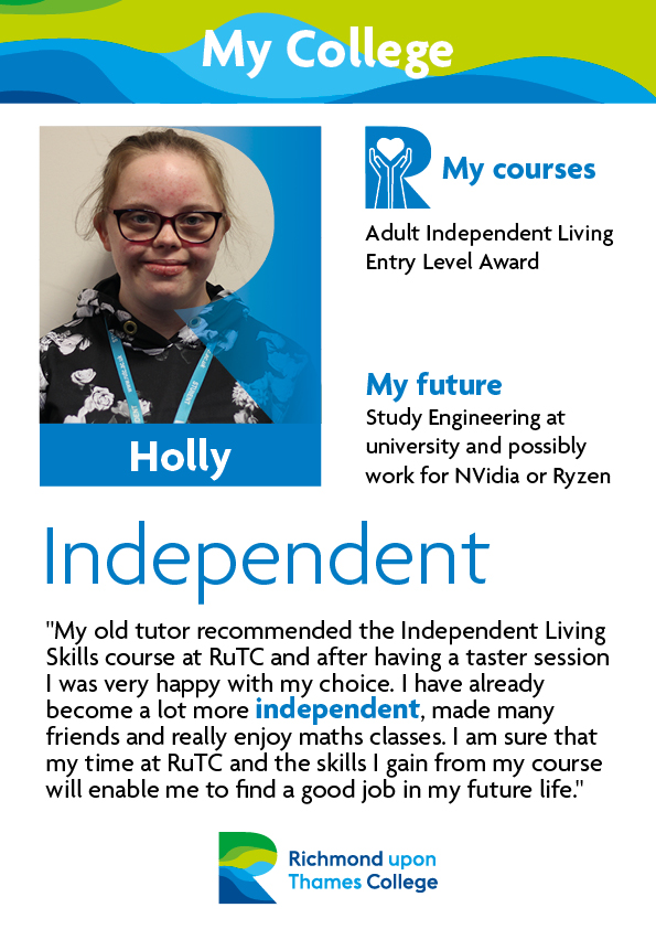 Supported Learning Posters Case Studies 2019 Holly