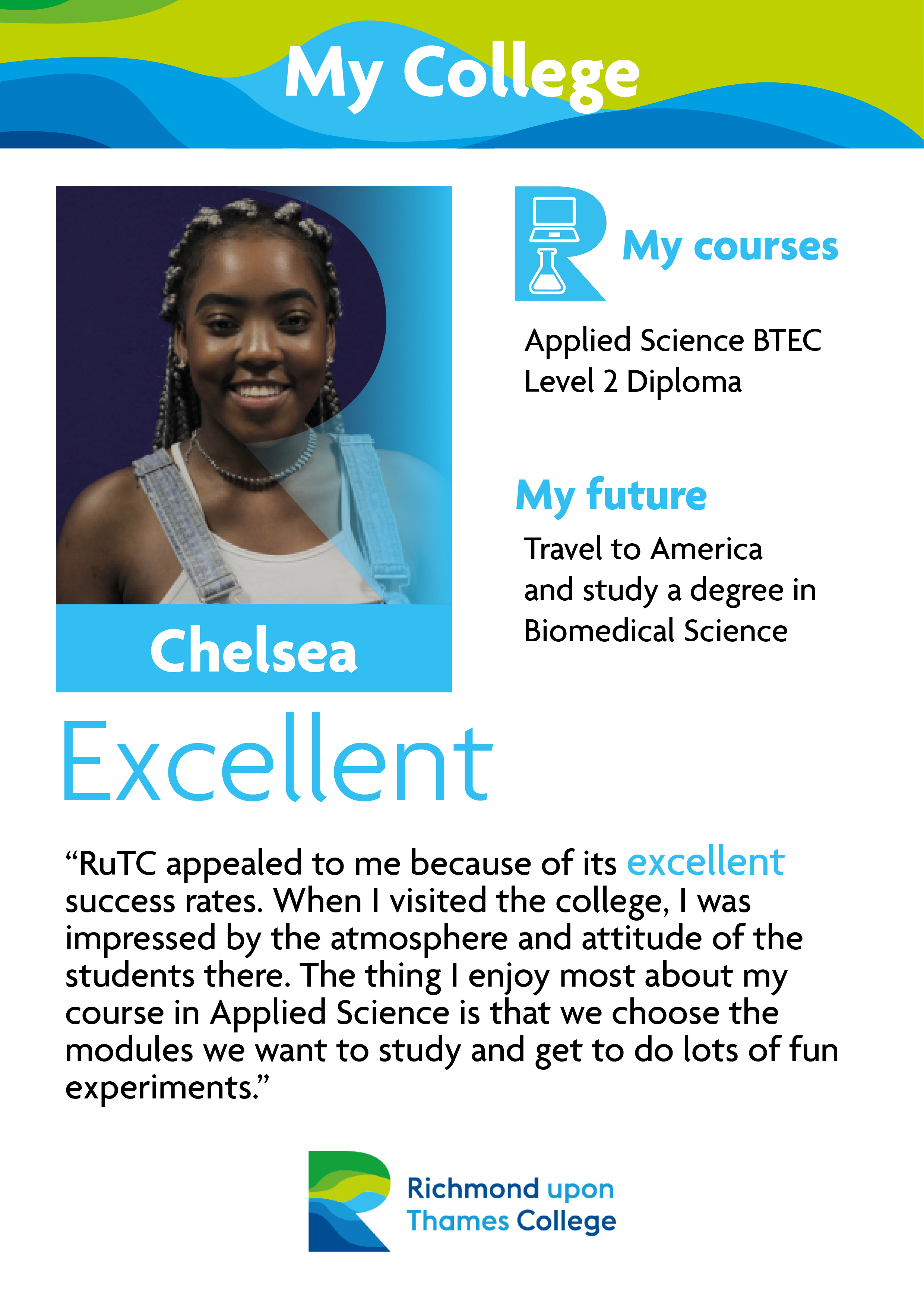 What Our Students Say 2019 Science Chelsea