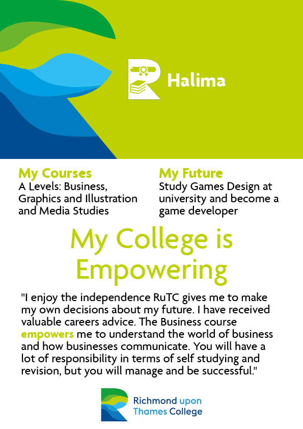 What Our Students Say 2020 A Level Business Halima