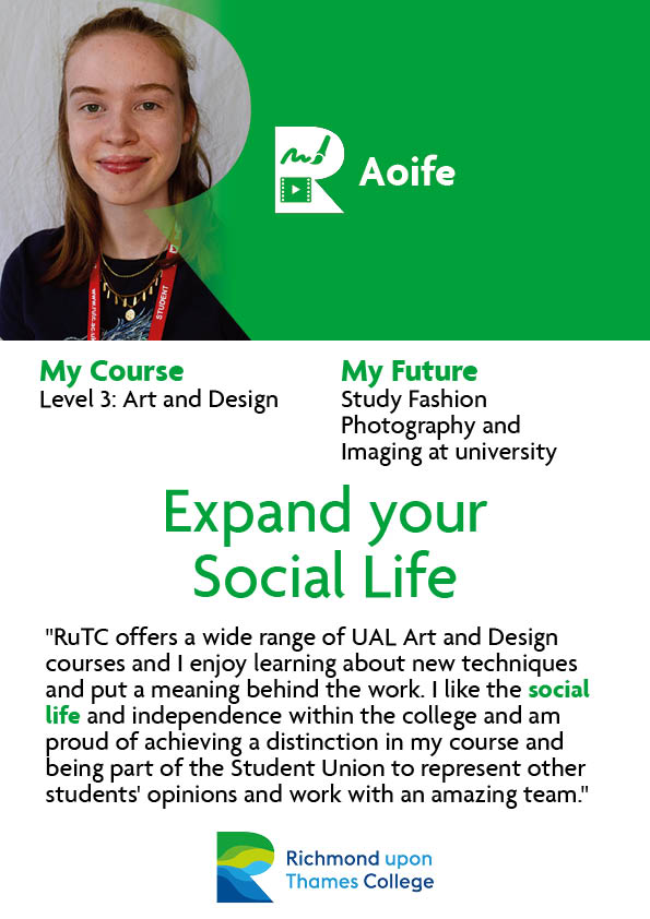 What Our Students Say 2020 Art and Design Aoife