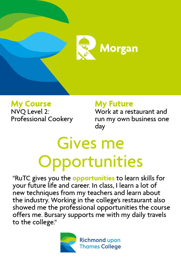 What Our Students Say 2020 Catering Morgan