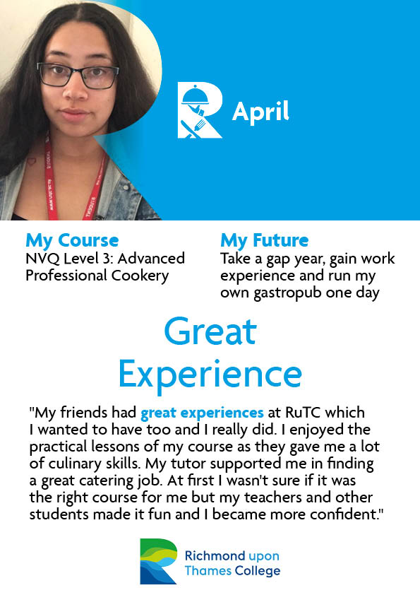 What Our Students Say 2020 Catering April