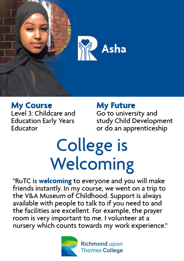 What Our Students Say 2020 Early Years Asha