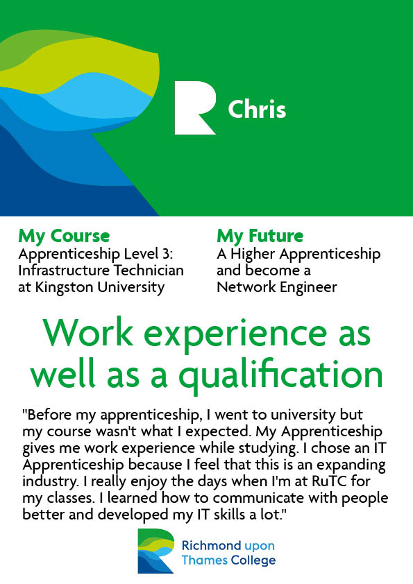 What Our Students Say 2020 Computing Chris