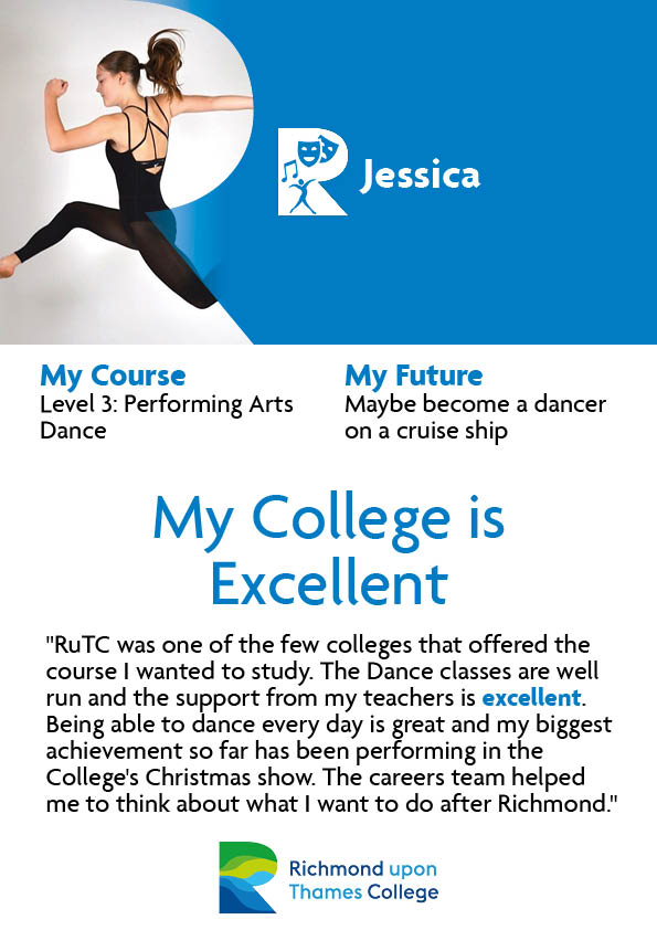 What Our Students Say 2020 Performing Arts Jessica