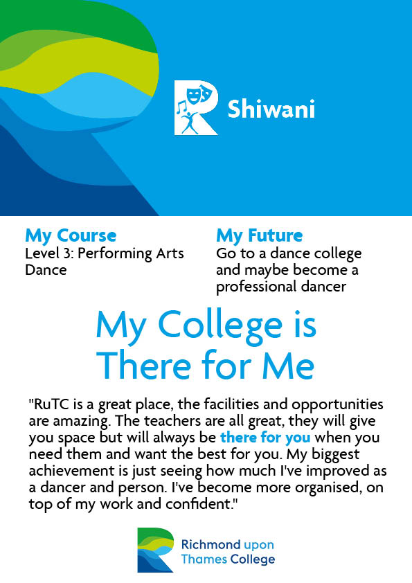 What Our Students Say 2020 Performing Arts Shiwani