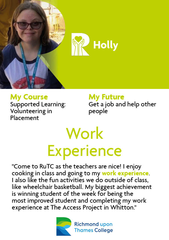 Supported Learning Holly