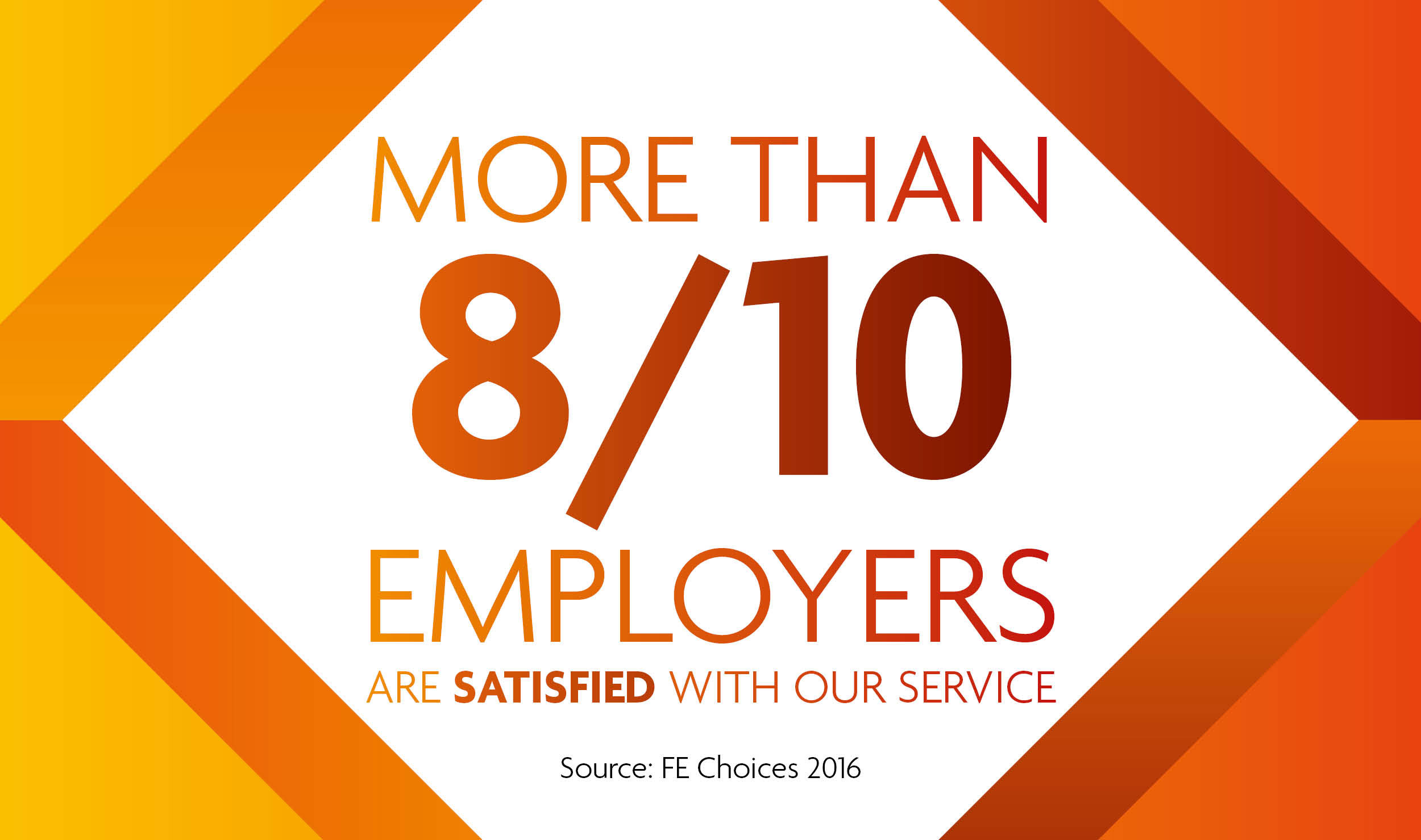 RuTC employers 8 out of 10 satisfaction employerpage