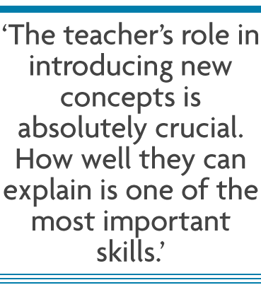 how to maximise the important use of teacher led learning in the modern classroom from best education blog at Richmond upon Thames College