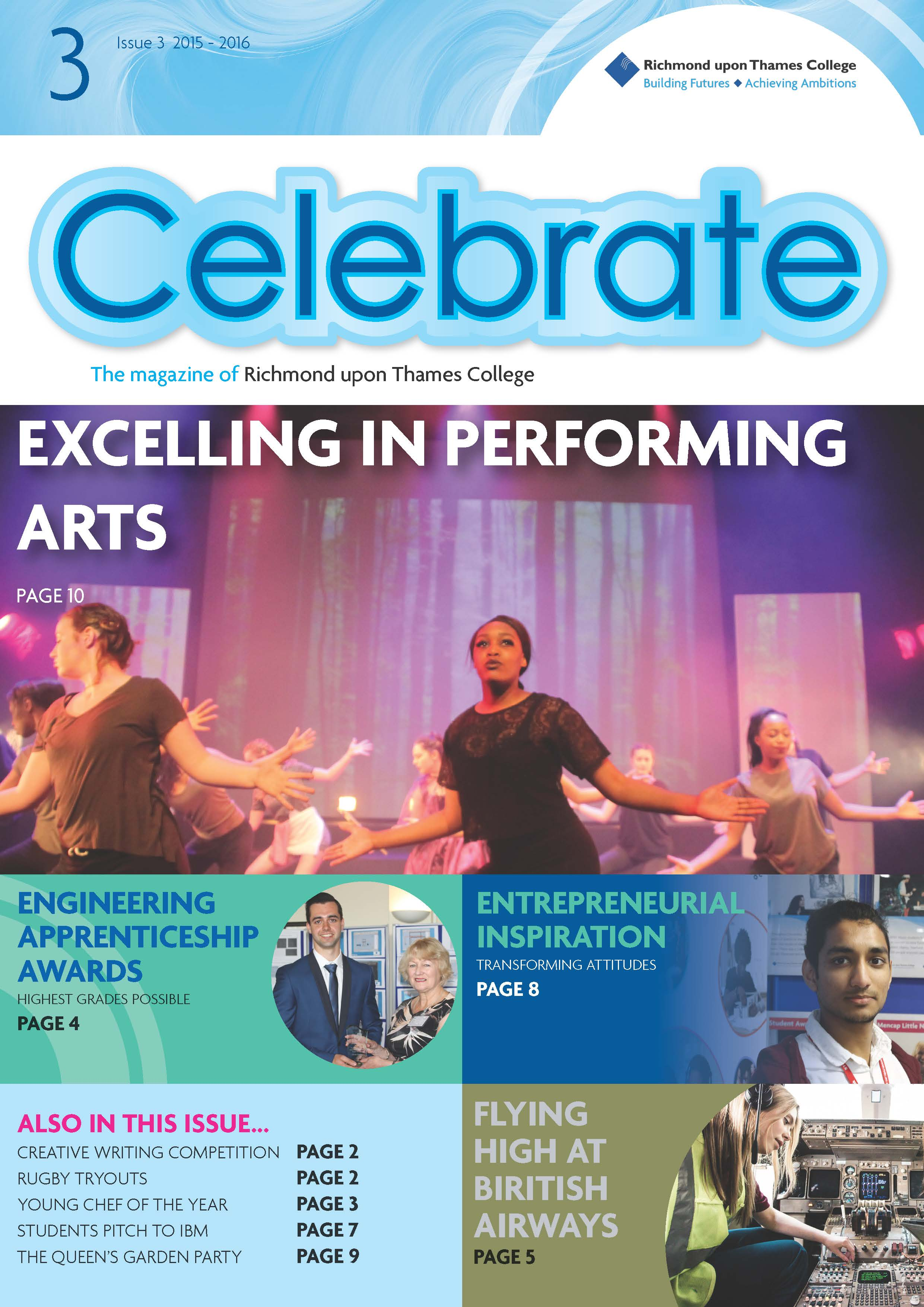 Celebrate Issue Magazine Richmond upon Thames College 32016 Online