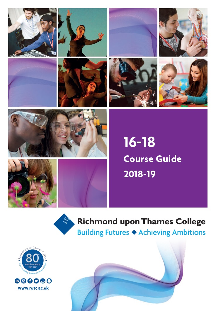 16 18 course guide for study and subjects at Richmond upon Thames College in London 3