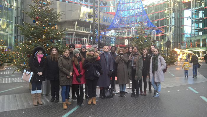 RuTC Students Visit Berlin