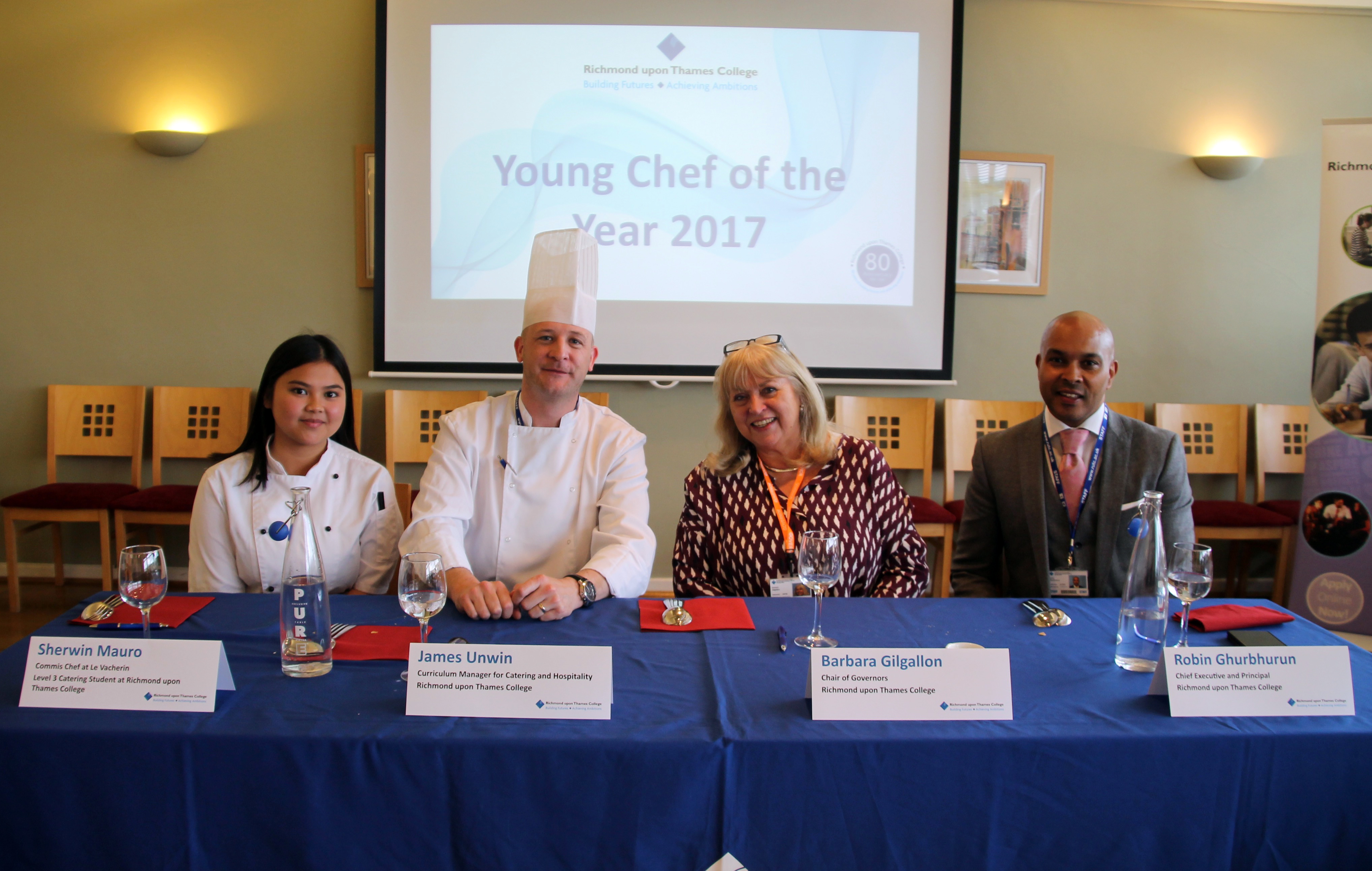 RuTC Young Chef of the Year Competition Judging Panel