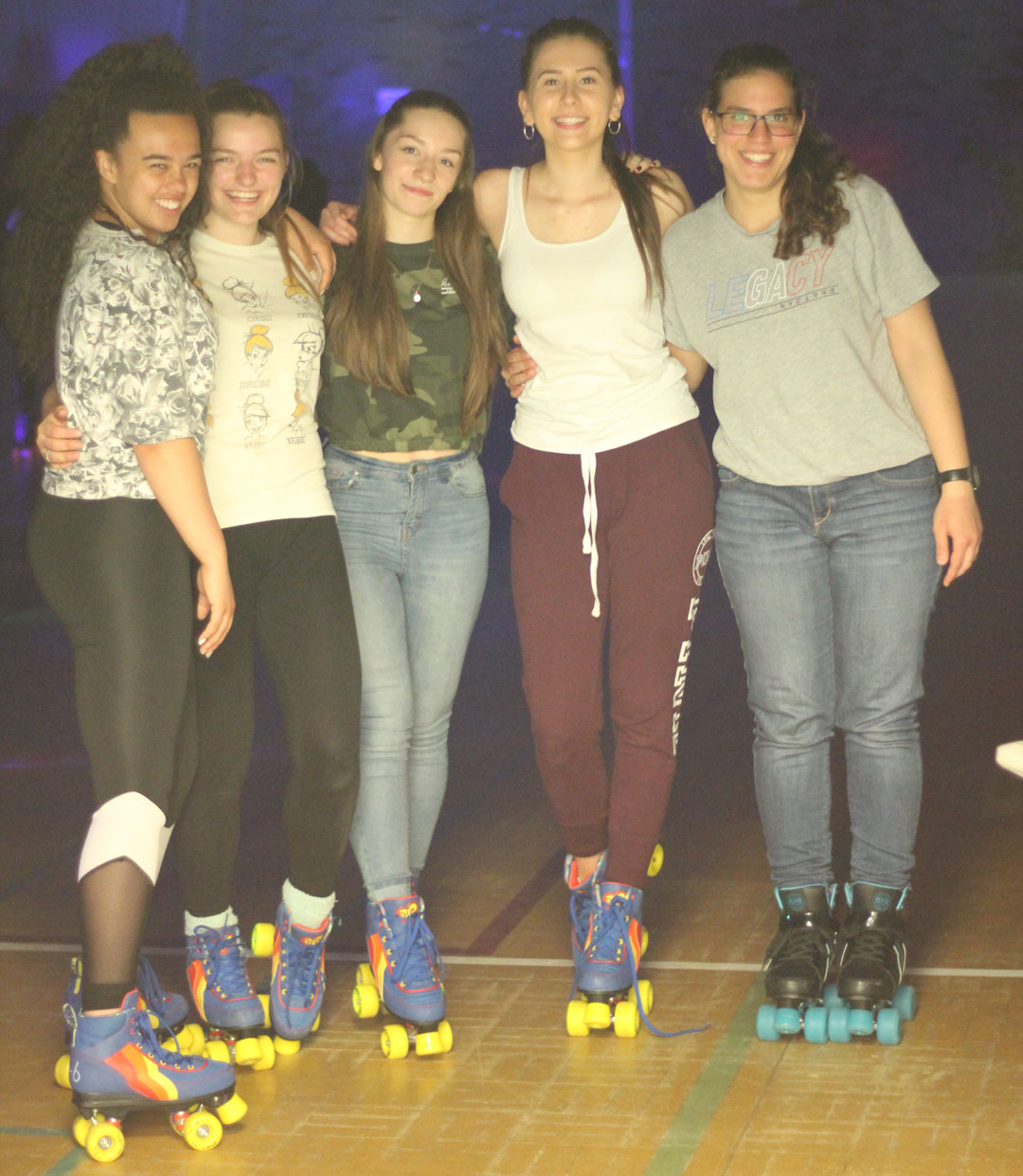 roller disco aoc thisgirlcan students2019