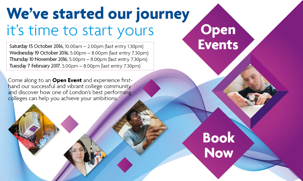 open events at Richmond upon Thames College come explore the college and meet your teachers 2016 17