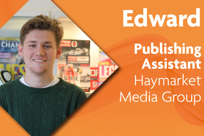 publishing assistant apprenticeships in creative and digital media and business at Haymarket Media Group and Richmond upon Thames College in London