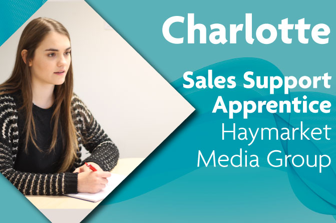 sales support apprenticeship in creative and digital media at Haymarket and Richmond upon Thames College in London 2