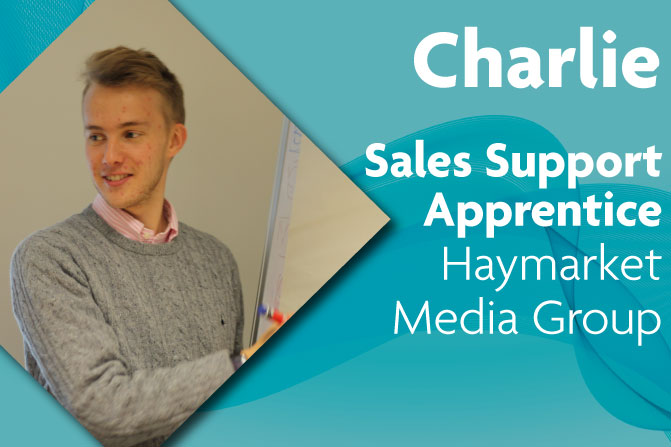 sales support apprenticeships in creative and digital media and business at Haymarket and Richmond upon Thames College in London