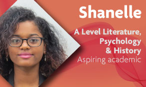 a level history literature and psychology student who wants to go to university loves the strong support network at Richmond upon Thames College near Kingston