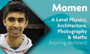 a level physics architecture photography and maths student wants to be an architect and photographer and loves the studio and dark room at Richmond upon Thames College near Clapham