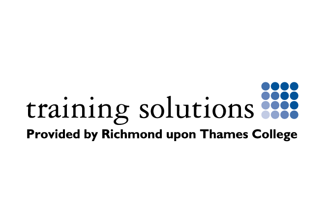 training solutions logos Richmond upon Thames College apprenticeships