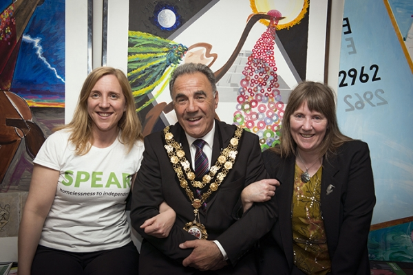 Artwork Previewed Ahead of Charity Auction at RuTC