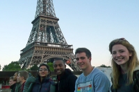 Students get an Eiffel of France