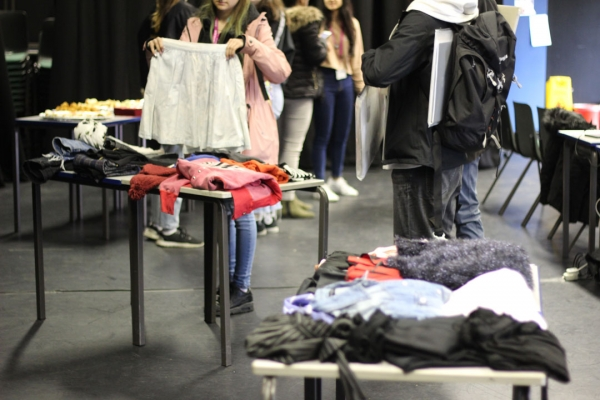 Students Upcycle with Clothes Swap Party