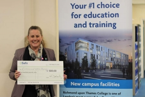 College wins £500 cheque from eSafe