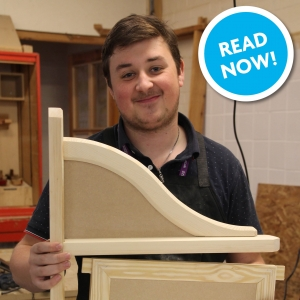 Carpentry and Bench Joinery Student Shines at Regional Carpenters' Craft Competition