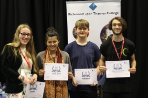 RuTC Discovers Exceptional Young Writers in its Inaugural Writing Prize